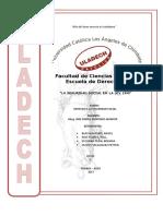 Derecho a la Seguridad Social Ley 19990