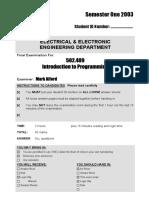 502-409 Intro to Programming