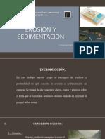 Erosion y Sedimentacion