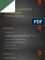 Trabalho Criminologia Apresentação