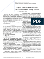 Power Flow Analysis for Radial Distribution System Using BackwardForward Sweep Method