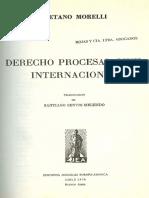 1310 Gaetano Morelli - Derecho Procesal Civil Internacional