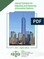TAB Procedural Standard 2015