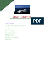 Jenys Logistics - Profile