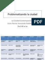 Ciudad - Problematización