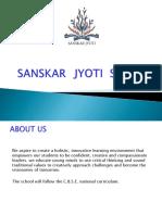 Sanskar Jyoti School