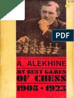 ALEKHINE Alexander [1927] My Best Games of Chess.1908-23 [1965] en 141