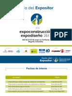 Expoconstruccion 2017 Guia Expositor