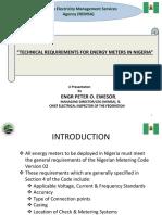 Meters Requirement Nigeria