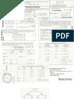 Cinética y Reactores