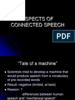 LECTURE_11_Aspects of Connected Speech