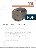 TacNet Programmable Data Link