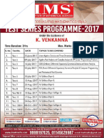 IAS/IFoS MathematicsTest Series-2017(Online/Offline) Begins from 25th June,2017