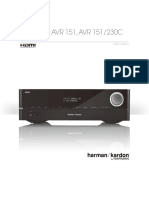 Owners Manual - AVR 151.pdf