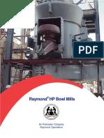 PB3708 - Raymond HP Bowl Mills