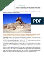 La Esfinge de Giza Egipto