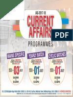Current Affairs Programmes