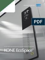 8046 KONE EcoSpace Elevator Brochure HR