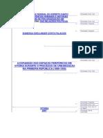 WANESSA DOELLINGER COSTA PALACIOS - A Expansão dos espaços periféricos em Vitória durante o processo de urbanização na primeira república 1889 - 1930