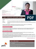 Pwc Tax First Newsletter April 2013