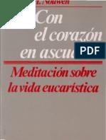 Nouwen, Henri J M-Con El Corazon en Ascuas