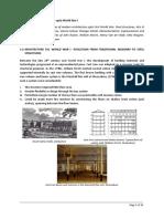 History Unit 2-Modern Architecture Upto WW1