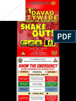 2017 Shake Out Drill Evacuation Areas