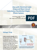 Lecture 12 Voltage Drop and Short Circuit Calculation