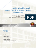Lecture 11 Electrical System Design (Residential)
