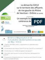 Presentation officielle SOCLE84 Club Finances LaGazette 22juin2017 Diffusion