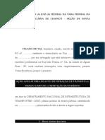 Ação Anulatória Multa Trânsito 2016 - Ausência Notificação.doc