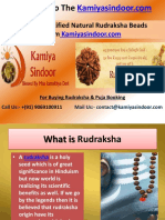 Rudrakash & Its Benefits