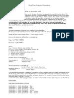 Slug Flow Analysis Procedure
