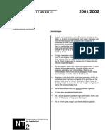 Examen NT2 luisteren 2001-2002
