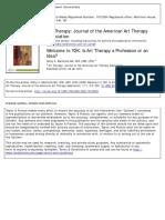 Art Therapy a Profession or an Idea malchiodi2000.pdf
