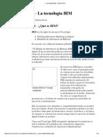 1 - La Tecnología BIM - Gestion Revit
