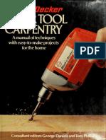 Black & Decker Power Tool Carpentry