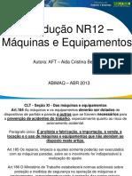 NR12 Apresentacao Maquinas e Equipamentos MTE