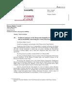 Résolution sur l'aide technique à la RDC concernant les événements dans le Kasaï