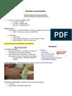 Neonatal Notes