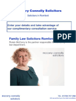 McCorry Connolly Family Law Specialists Romford