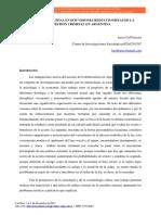 Apología de La Pena en Dos Visiones Reduccionistas de La Cuestión Criminal en Argentina