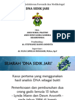 Presentasi Referat Sidik Jari Dna Fixed