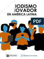 Periodismo Innovador en América Latina