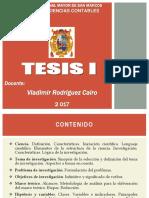 TESIS I