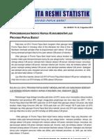 28. Inflasi Papua Barat Juli 2010
