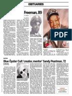 Sandy Pearlman (Blue Oyster Cult) obituary
