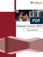 1 UTN FRBA Manual Access 2010 Introduccion