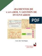 Fundamentos de Control y Gestion de Inventarios Holguin