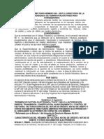 Acuerdo de Directorio Número 024
